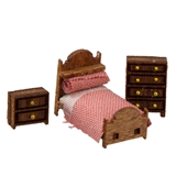 1/144 Scale Country Child's Room Furniture Kit