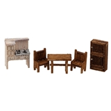1/144 Scale Country Kitchen Furniture Kit