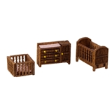 1/144 Scale Country Nursery Furniture Kit