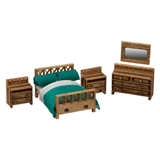 1/144 Scale Modern Bedroom Furniture Kit