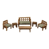 1/144 Scale Modern Living Room Furniture Kit