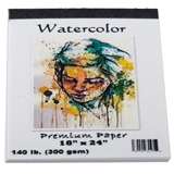 "Large ""Watercolor"" Painting Pad"