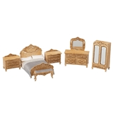 1/48 Scale Victorian Bedroom Furniture Kit