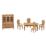 1/48 Scale Victorian Dining Room Furniture Kit
