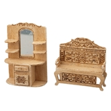 1/48 Scale Victorian Hall Furniture Kit