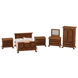 1/48 Scale Traditional Bedroom Furniture Kit