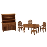 1/48 Scale Traditional Dining Room Furniture Kit