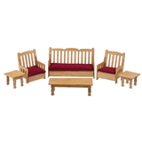 1/48 Scale Country Living Room Furniture Kit