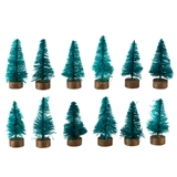 12 Mini Green Trees