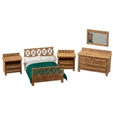 1/48 Scale Modern Bedroom Furniture Kit