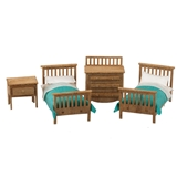 1/48 Scale Modern Child's Room Furniture Kit