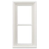 1/24 Scale Victorian Narrow 2-Pane Window