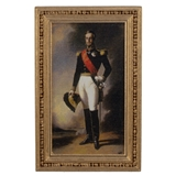 Naval Officer in Uniform Framed Print