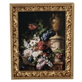 Still Life with Flowers and Urn Framed Print