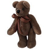 Chocolate (Taupe Bear with Bow)