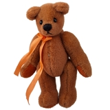 Cinnamon (Rust Bear with Bow)