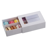 French Macaroons in Bakery Box