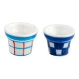 Checked and Plaid Pot Set