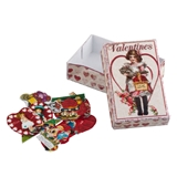 Vintage Valentine and Box Kit