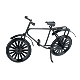 Small Black Bicycle