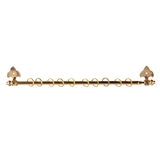 Adjustable Brass Curtain Rod