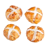 Four Hot Cross Buns