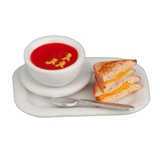 Tomato Soup and Grilled Cheese Plate