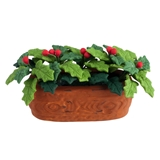 Holly and Berries Planter