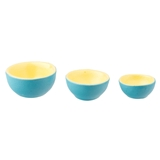 3-Pc. Blue and Yellow Nesting Bowl Set