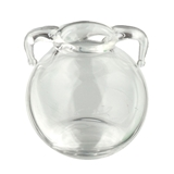 Double-Handled Glass Vase