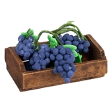 Crate and 6 Bunches of Grapes