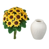 Sunflower Bouquet and Vase