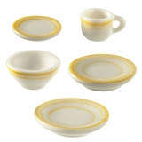 5-Pc. Yellow Symmetry Place Setting