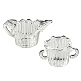 Sugar Dish and Creamer