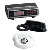 Clock Radio and Table Phones Set