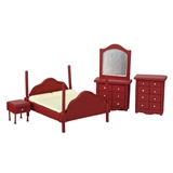 5-Pc. 1/24 Scale Bedroom Set
