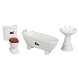3-Pc. 1/24 Scale Bathroom Set