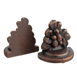 Floral Cluster Bookends/Brackets