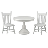 3-Pc. Shelly Table and Chairs Set