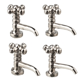 Four Chrome Faucets