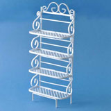 Scrolled Baker's Rack