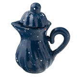 Blue Speckle Coffee Pot