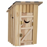 Two-Holer Outhouse