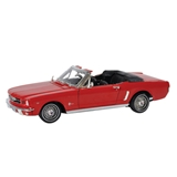1964-1/2 Red Ford Mustang Convertible