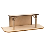 Flat Roof Nativity Stable Kit
