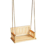 Oak Porch Swing
