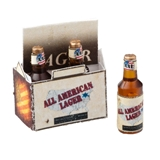 Six Pack of All American Lager