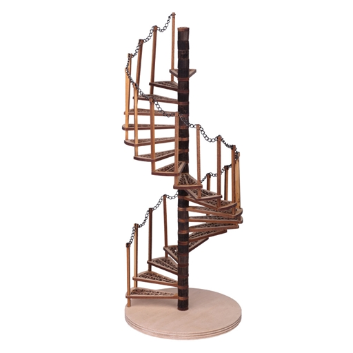 Dollhouse Spiral Staircase Kit Dollhouse Stairs Kit