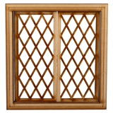 Diamond Double Casement Window