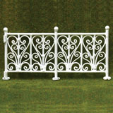 6-Pc. Wrought Iron Fence
